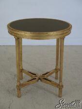 45196EC: French Louis XVI Style Gold Gilt Granite Top Table