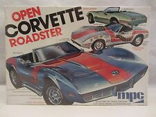 MPC  Open Corvette Roadster  Model Kit NIB 1:25 scale  (516H)  1-7506