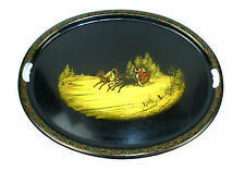 Tray Lacquer painting Troika Russia Wischnjakow um 1890 Russia Vishnyakov B-90