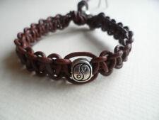 Modeschmuck-Armbänder aus Leder und gemischten Metallen Perlen