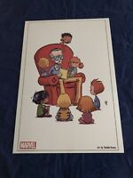Amazing Spider-Man #9 Skottie Young Litho C2E2 Exclusive Not Signed by Stan Lee!