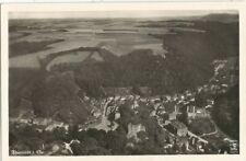 Tharandt in Sachsen, Fliegeraufnahme, Luftbild, alte Ak um 1935