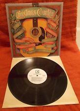 Christmas Country Mel Tillis Nancy Sinatra Johnny Lee Hank Williams Jr. Promo Lp