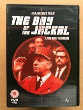 Edward Fox The Day of the Jackal ~ 1973 ASESINATO SUSPENSE CLÁSICA GB DVD
