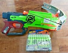 NERF N-Strike ELITE Zombie Strike 2014 Crossfire Bow + NEW 30 Zombie Darts