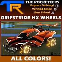 [PS4/PSN]Rocket League All Painted GRIPSTRIDE HX  Rocket Pass II Limited Wheels