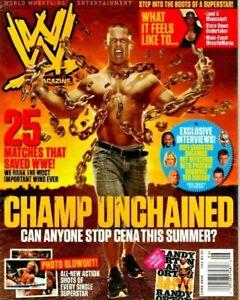 JUNE 2010 WWE WRESTLING MAGAZINE JOHN CENA CHAMP- w/ R.Orton Poster WRESTLEMANIA
