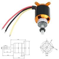 CNC 3034-1400KV Brushless Motor for Multirotor Fixed-wing Airplane Drone #GD