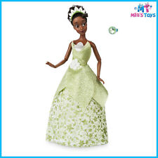 "Disney Princess Tiana Classic 11 1/2"" Doll with Ring Toy brand new in box"