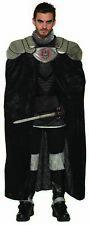 Dark Royalty King Cape Black Velvet Men's Halloween Costume Accessory OS