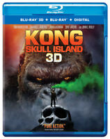 Kong: Skull Island [New Blu-ray 3D] Manufactured On Demand, With Blu-Ray, UV/H