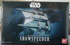 Star Wars Snowspeeder, 1:48, Bandai 196692 nuevo 2017