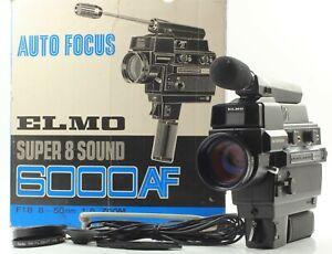 RARE *BOX* ELMO SUPER 8 SOUND 6000AF MACRO 8MM FILM MOVIE CAMERA CINE FROM JAPAN