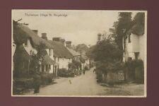 Devon KINGSBRIDGE Thurlestone Village Used 1929 PPC