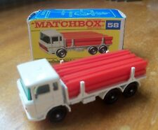 Diecast MATCHBOX LESNEY 1-75 RW No:58c DAF GIRDER TRUCK from 1968 VGC Boxed