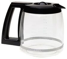 NEW Cuisinart Replacement Glass Carafe Decanter Coffee Pot Maker Black 12 Cup