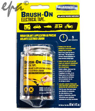 BRUSH ON LIQUID ELECTRICAL TAPE FLEXIBLE RUBBER INSULATION SEALANT (BLACK)