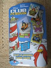 Disney Club Penguin Fast Flippers CARD Game Collector Tin Cardinal