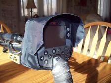Minelab E-trac/Etrac Rain,Dust Cover with Sun Visor Made in the USA