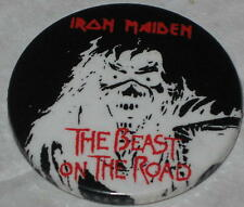 Iron Maiden The Beast on the Road Tour Pin 1.75""