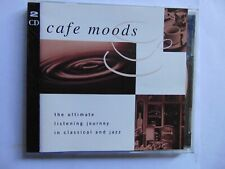 Cafe Moods - Ultimate Jazz and Classical Journey - 2CD - FREE POST