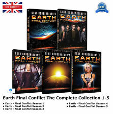 Earth - Final Conflict Season 1-5 - The Complete Part 1 2 3 4 5 New Region 2 DVD