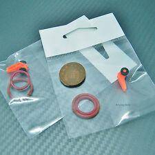 Easy Hook Lure Keeper Holder Hanger Orange Fly fishing - Set of 2 Fishing Tackle