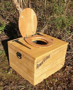 The Little John Composting Toilet Waterless Camping Glamping Eco Off Grid