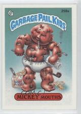 1987 Topps Garbage Pail Kids Series 7 #258a.2 Mickey Mouths (Two Star Back) d4s