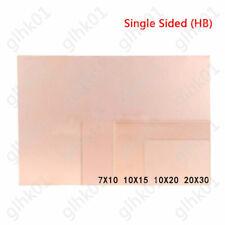 1 10x Single Sided Copper Clad Plate Pcb Circuit Board 710 1015 1020 2030cm