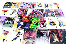 Full color BATMAN PLAYING CARDS animated series WB Kids cartoon Complete