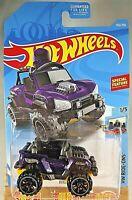 2019 Hot Wheels #135 HW Ride-Ons 1/5 BOGZILLA Purple w/Black OROH6 Spokes