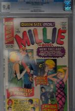 MILLIE THE MODEL ANNUAL #5  (1966)   CGC 9.4 (NEAR MINT)