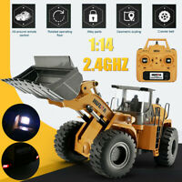 HUINA 583 2.4G 1:14 Electric Remote Control Model Bulldozer Engineering