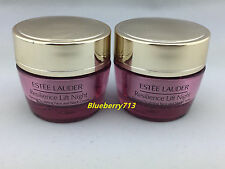 2 x Estee Lauder Resilience Lift Night Firming Face &Neck Creme 15ml*2=30ml/1 oz
