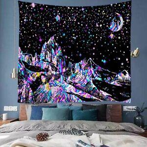 Tapestry Wall Hanging Line Mountain Moon Star Mandala Tapiz Witchcraft Sun Decor