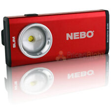 Nebo Slim Led Pocket Light 500 Lumens Usb Rechargeable with Magnetic Base Red