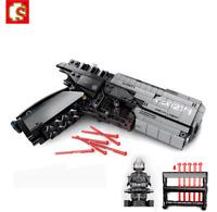 Blocksteine Sembo Signal Gun Shooting Sicherheit Figur Spielzeug Modell Geschenk