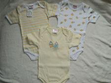 Schnizler 3er Pack Baby Bodys Gr.62/68 NEU