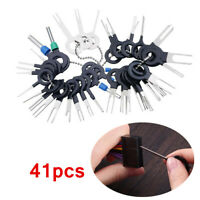 41pc Wiring Connector Extractor Car Terminal Pin Removal Puller Release Tool