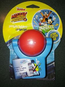 Disney Mickey Mouse Roadster Racers Projectables LED Night Light Projector 11743