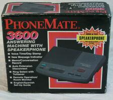VTG 90s New in Box Phone-Mate 3600 Telephone Answering Machine with Speakerphone