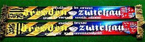 "Dresden Zwickau Poly Schal ""BROTHERS IN ARMS"" Ultra Fan Kurve Block + 127x14 cm"