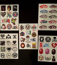 50+ Skateboard Longboard Vintage Vinyl Sticker Laptop Luggage Car Decals 5 Page