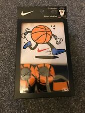 BNWT Nike Basketball 3 Piece Set 0-6 Months Bodysuit Booties Cap