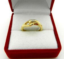 Tiffany & Co. 750 (18k) Yellow Gold Knot Motif Ring size 5.5