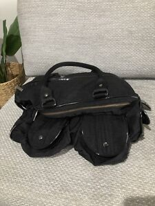 OiOi Carry All Nappy Bag - Black Excellent Condition