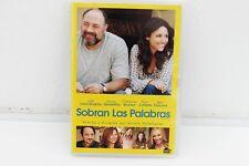 SOBRAN LAS PALABRAS ( ENOUGH SAID ) - NICOLE HOLOFCENER - DVD - JAMES GANDOLFINI