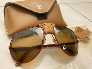 swiss army 4000 sunglasses red vintage