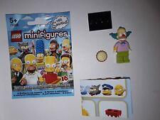 Lego 71005 Minifigures  Simpson Série 1 -   Krusty le clown  Minifig